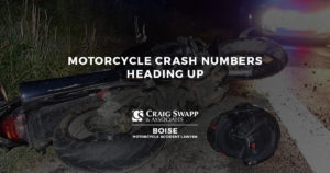 Motorcycle Crash Numbers Heading Up