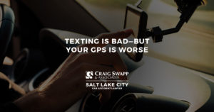 Texting Is Bad, but Your GPS May Be Worse