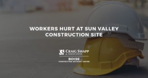 Workers Hurt at Sun Valley Construction Site