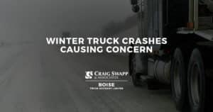 Winter Truck Crashes Causing Concern