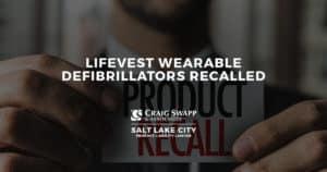 LifeVest Wearable Defibrillators Recalled