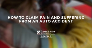 How to Claim Pain and Suffering from an Auto Accident