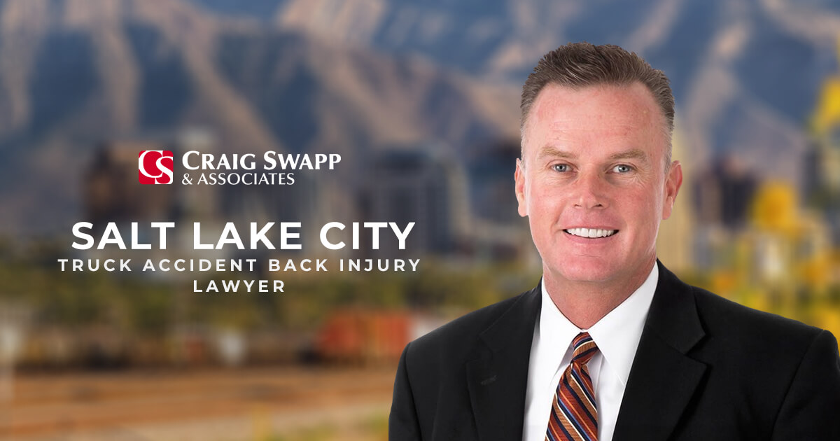Salt Lake City Truck Accident Back Injury Lawyer | CLICK HERE