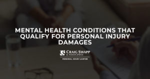 Mental Health Conditions That Qualify for Personal Injury Damages