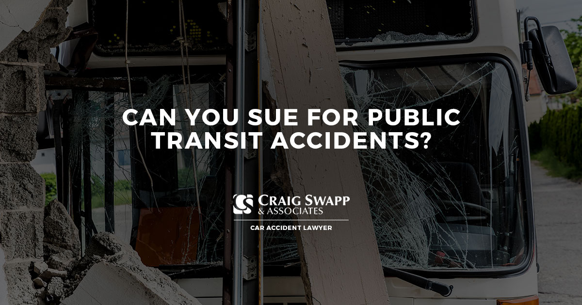 Can You Sue for Public Transit Accidents?