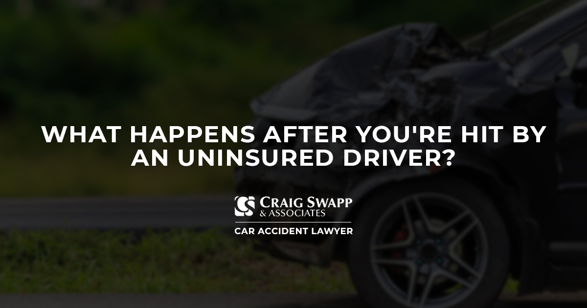 What Happens After You're Hit by an Uninsured Driver