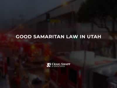 Good Samaritan Law in Utah