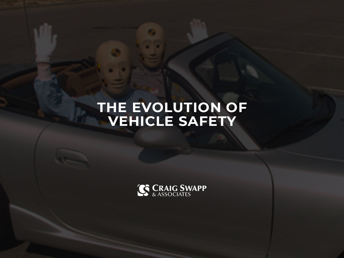 The Evolution of Vehicle Safety