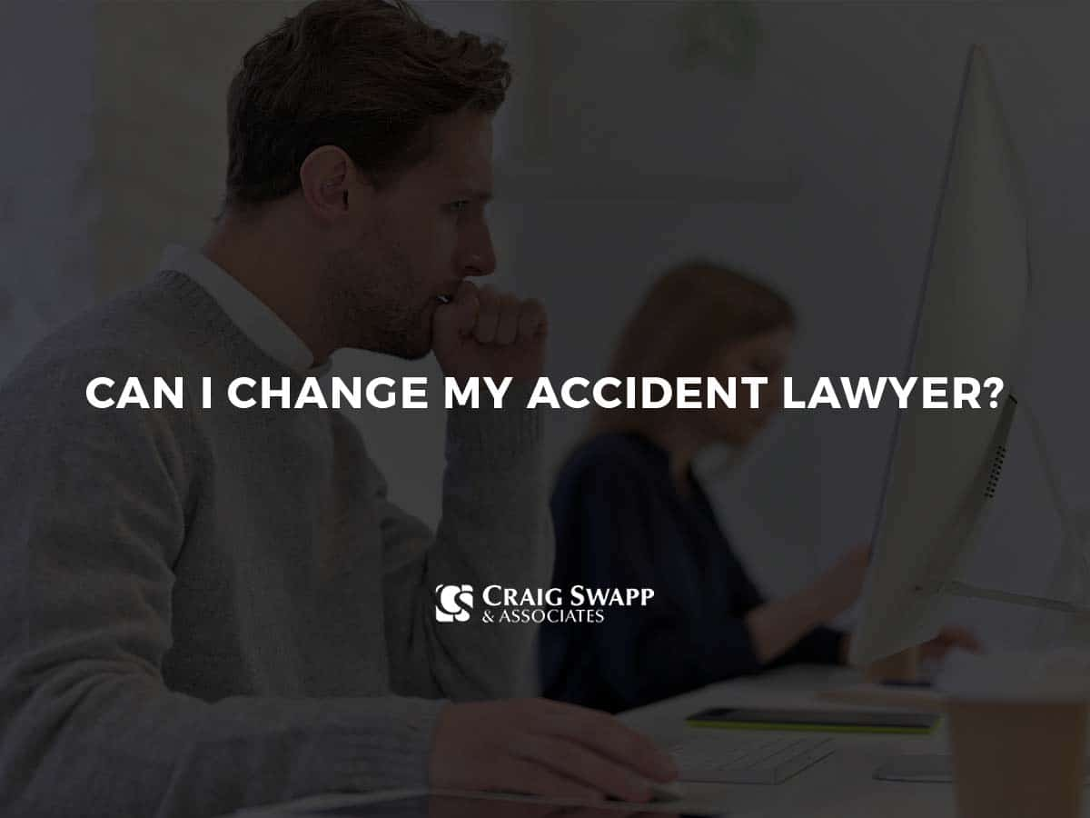 Can I Change My Accident Lawyer?